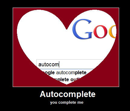 love google autocomplete